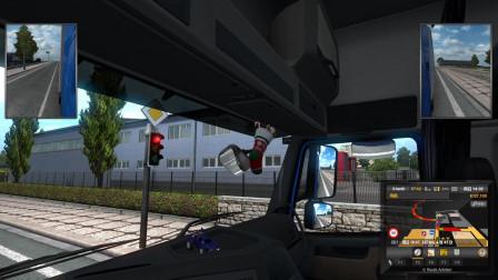 欧洲卡车模拟2 EX的周五自驾游 第十八集