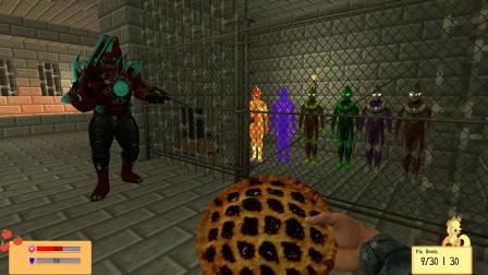 GMOD游戏小黑用煎饼炸弹能跟怪兽换迪迦奥特曼吗?