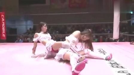见过格斗,没见过日本女子如此奇葩的格斗,美女打架下手真狠!