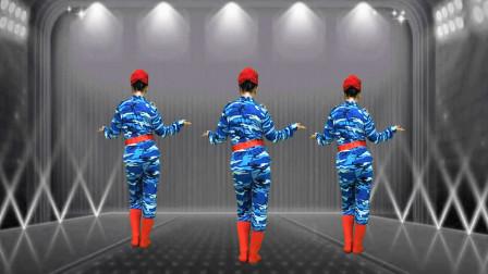 网红歌舞《酒醉的雨滴》背面教学,一步一步详细分解