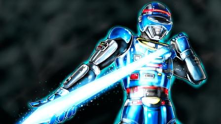 【暗の制】宇宙刑事夏伊达战斗插曲MAD ( 青いイナズマ) 蓝色闪电
