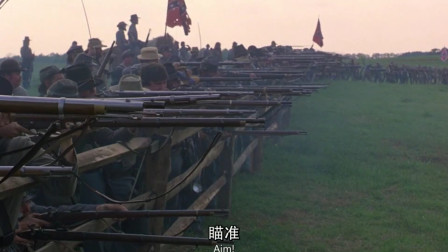 光荣战役:黑人为争夺自由,疯狂浴血奋战场面猛烈刺激
