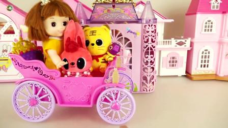 娃娃食品店和汽车玩具,玩具店,娃娃多利玩具
