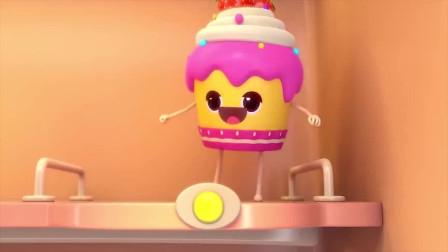 宝宝巴士:小河马给大家买了好多好吃的蛋糕!肯定很好吃