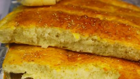 用烤箱做的懒人面包,没有那么复杂,跟着我学一定能成功