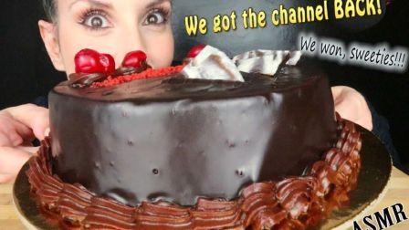 ☆ SaltedCaramel ☆(P1)超浓巧克力蛋糕(P2吃播)情人节巧克力多拼蛋糕、玛格丽特披萨 食音咀嚼音(新)
