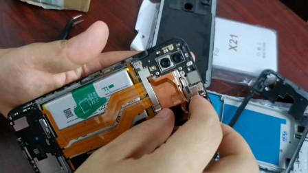 小伙花80元买到一台vivoX21手机换了一个屏幕居然是好的