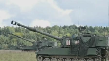 美军M-109自行榴弹炮155毫米炮弹