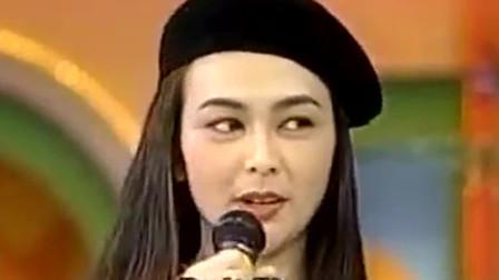 郭富城关之琳早年一起参加台湾综艺节目,关之琳笑称郭富城很害羞