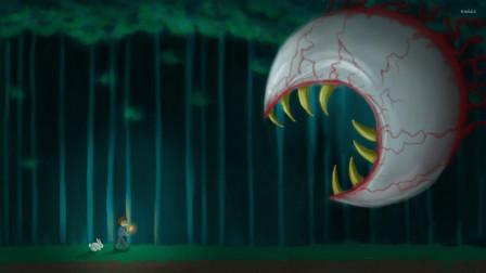 天使解说 泰拉瑞亚娱乐开荒P2 探索地洞 发现回家神器