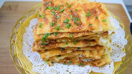 酥脆千层酱香饼,酱料配方详细讲解,酱香味浓郁,比外面卖的好吃