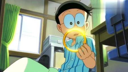 哆啦A梦:小夫给大家神秘金圈圈的线索,是已经消失的文明!