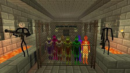 GMOD游戏小黑在地牢找到了迪迦奥特曼儿子要怎么救?