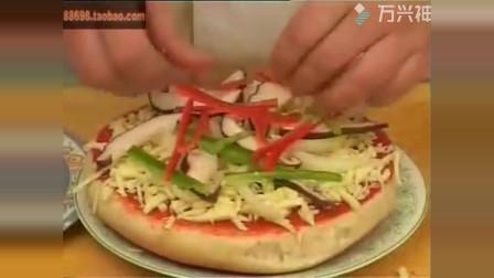 在家无聊和我一起做披萨吧
