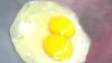在网上学来的技术特意找了两个鸡蛋试一试不知道效果怎么样