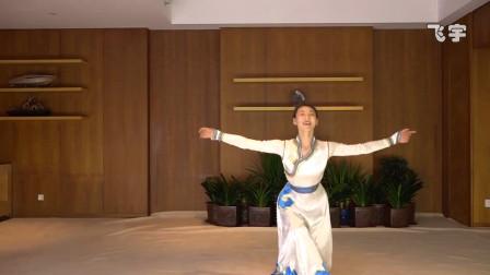 丽人行让她成为了万众瞩目的那颗明星,郝若琦蒙古舞《鸿雁》