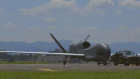 美国RQ-4全球鹰世界上最先进的无人高空侦察机