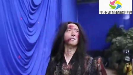 陈情令爆笑花絮:鬼将军化妆台辛苦了,脸上都是泥,哈哈!