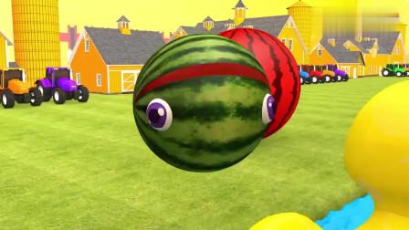 儿童卡通片:萌萌哒吃豆人变成了大鳄鱼