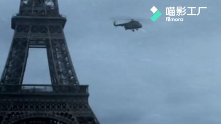 影视:零下100度埃菲尔铁塔被飓风刮倒