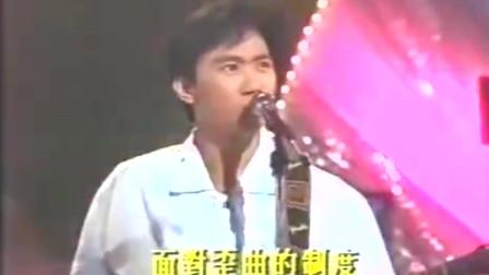 Beyond青涩献唱《爆裂都市》,黄家驹很少唱的一首歌,值得你多听几遍