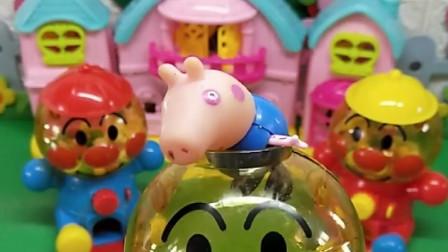 乔治想吃糖,乔治的扭糖机里的糖不见了,到底是被谁吃掉了