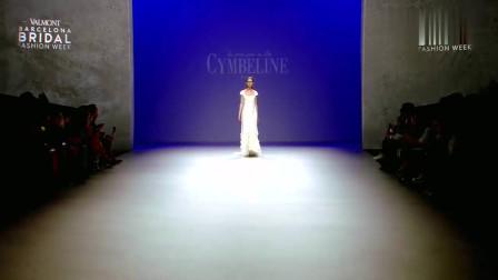 时装秀:春夏时装秀:模特们一身白纱长裙,每一款都很美!
