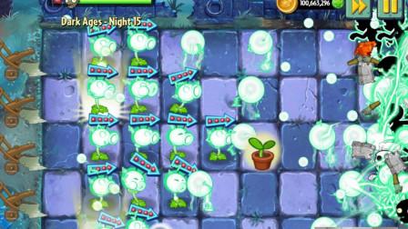 植物大战僵尸2国际版 电能豌豆 以子弹为中心对周围敌人造成伤害