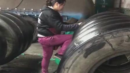 难怪现在的车胎,都没有以前耐用,都是这样复新的!