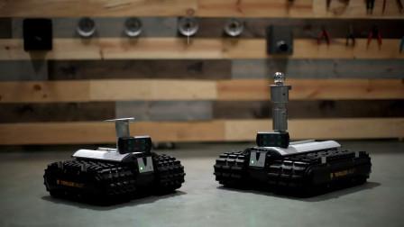 国外推出搬运机器人,动动手指就能拖动大卡车,就是有个缺点!