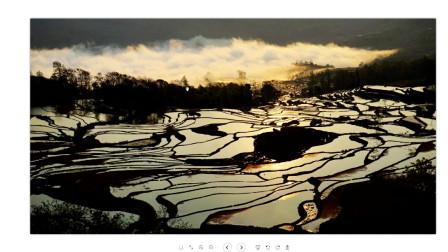 云南元阳哈尼梯田,每年春节期间都吸引几十万摄影人采风拍摄