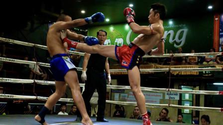 昨夜:中国高手在泰国重拳KO了泰国拳王,宣布出征昆仑决诸神之战