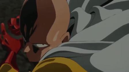 一拳超人:徒弟的善后人,捡漏王再现王者引擎,埼玉秒杀龙级怪人!