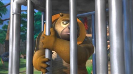 熊出没大冒险 惹我光头强 熊熊变绵羊 熊二真可怜