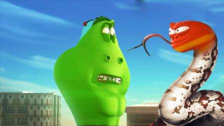 爆笑虫子之超级英雄 无论遇到什么困难 绿巨人都不会怕