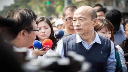 """民进党前""""立委"""":韩国瑜要思考如何缓和高雄人的情绪,比较实际"""