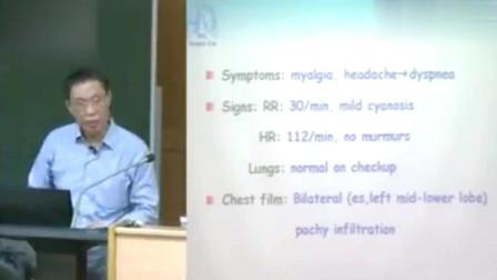 钟南山教授80多岁高龄英文授课广医南山班内科总论,才思敏捷