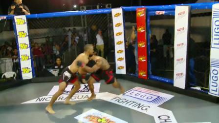 MMA最可怕的KO,躺地上眼神都直了