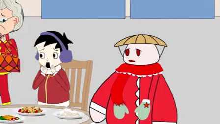 """草帽肥肥:老奶奶带宝贝孙子去吃川菜,不料辣到极致!肥肥前来支招""""降辣"""""""