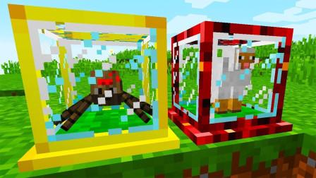 我的世界:刷怪农场模组mod,瞬间刷出数万资源,还要什么刷怪塔!