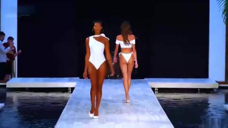 时装秀:欧美顶级泳装秀,不得不说这些模特都很有礼貌!
