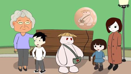 草帽肥肥:即使将气球送出,也是要给懂事的小朋友,而不是熊孩子哟!