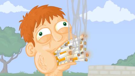 小伙吸烟上瘾,连汽车尾气都不放过,最后全身细胞发生了癌变