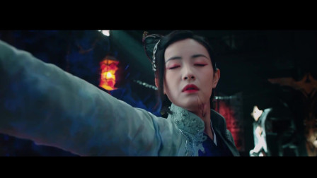 电影《七剑下天山之七情花》:漂亮女魔头的练功方法。
