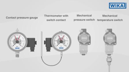 威卡中国:电接点压力表与压力开关 | 有哪些区别?(中文中字)