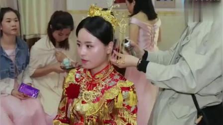 婚礼:广东一家双胞胎儿子结婚,这才是真正的双喜临门,两位新娘好漂亮