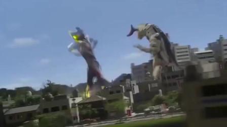 奥特曼:维克特利奥特曼使用技能后,直接把怪兽消灭了