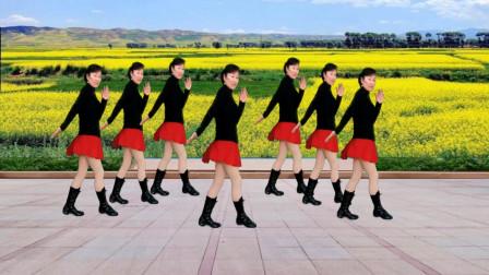 16步初学入门广场舞《三月三》2020年又火啦 看后一定会喜欢 一步一步教你跳