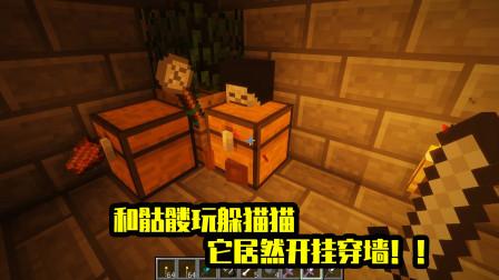我的世界mod:会玩捉迷藏的骷髅,躲到箱子里也太蠢了