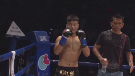 中国小将外表人畜无害,谁知出手不凡,一回合KO日本双料冠军